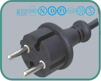 European CEE 7 16 EN50075 standards Y002-F(D02-F)