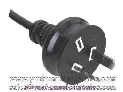 Australia standards SAA approval power cord YA-2