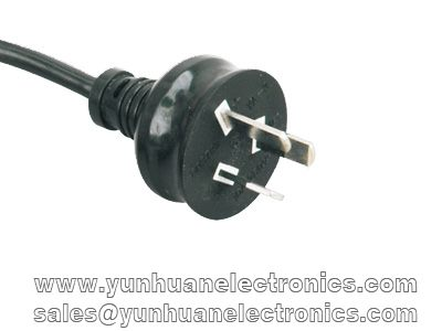 Australia standards SAA approval power cord YA-3