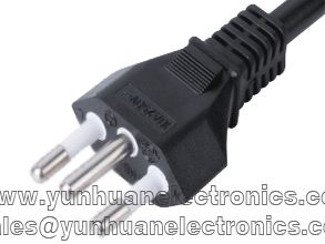 Brazil standards power cord YHB-3