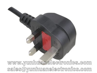 British UK plug with fuse Y006A