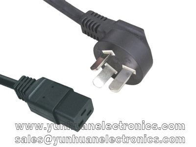 CHINA CCC POWER CORD PSB-16 IEC C19 ST6