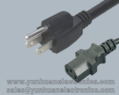 Japanese PSE JET Computer/Monitor Power Cord JIS C 8303  to IEC C13