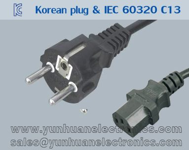 KOREAN KS POWER CORD K04 ST3
