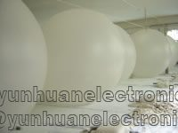 Meteorological balloons manufactured