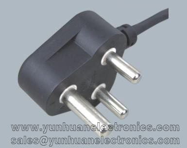 South Africa standards power cord C-18A