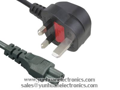 UK BS 1363 Plug Y006A ST1