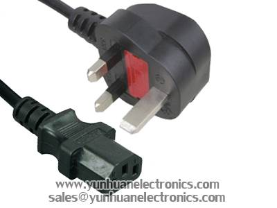 UK BS 1363 Plug Y006A ST3