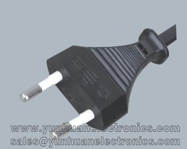 Y001-K----Korean KSC power cords